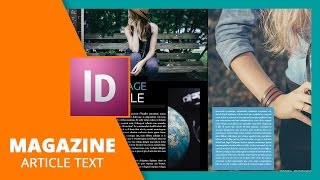 Magazine Article Text Tips In InDesign
