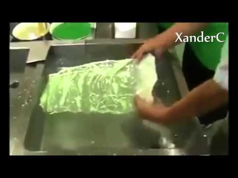 Lechuga artificial en china!!