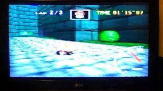 """MK64 - Bowser's Castle - 43""""83 fast lap"""
