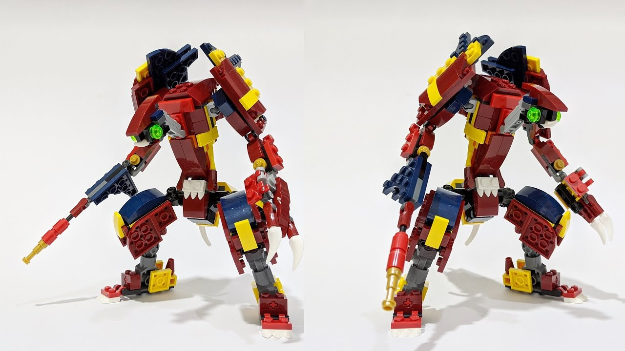 Lego Creator 31102 Bug Warrior Alternative Build