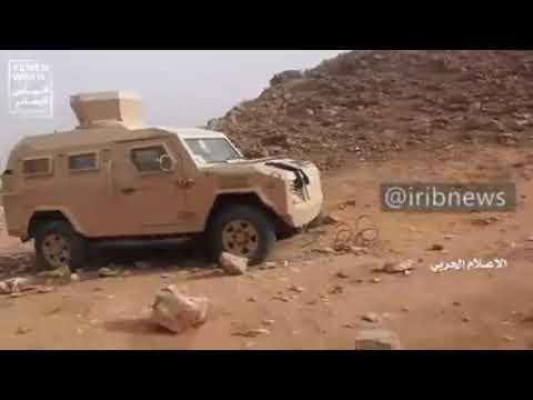 Suudi Paralı Askerlerin Kaçarken, Geride Bıraktıkları Askeri Araçlar ve Mühimmattan Görüntüler