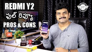 Xiaomi Redmi Y2 Review with Pros & Cons ll in telugu ll
