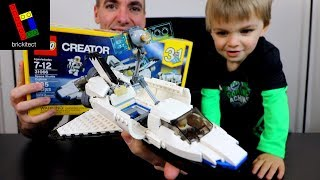 MORE THAN A LEGO SPACE SHUTTLE!