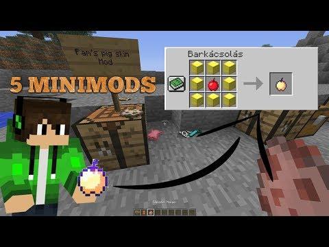 5 Minecarft Minimods #4 | CRAFTOLHATÓ OP-É MOD!
