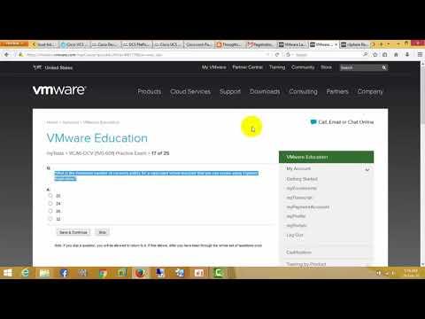 VCA6-DCV(1VO 601) Practice Exam - YouTube