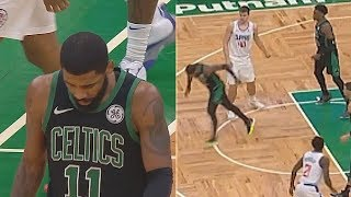 Kyrie Irving Injury & Leaves The Game! Celtics Vs Clippers