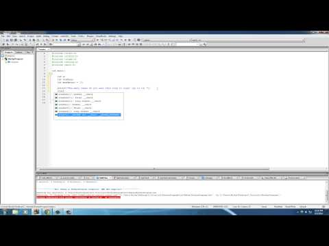 C Programming Tutorial – 29 – break