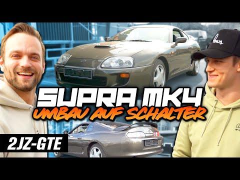 Supra MK4 Umbau auf Schalter
