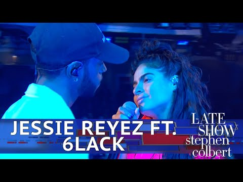 Jessie Reyez Performs 'Imported' Ft. 6LACK - The Late Show With Stephen Colbert