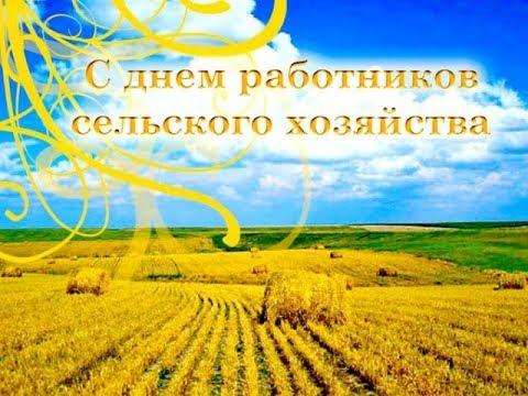 С праздником ВСЕХ Работников сельского хозяйства!!!