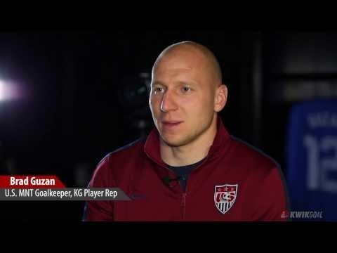 U.S. Men's National Team Goalkeeper Brad Guzan Interview Part 1