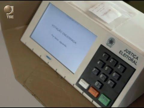 Urna eletrônica garante segurança nas eleições