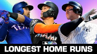 Top 10 Longest Home Runs of 2010s | Best of the Decade