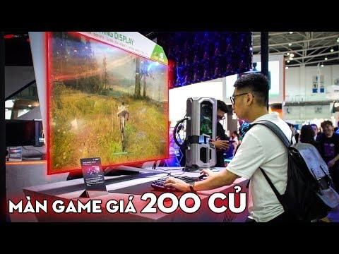 REVIEW MÀN HÌNH CHƠI GAME 200 TRIỆU 65 INCH TO + ĐẮT NHẤT THẾ GIỚI ASUS ROG PG65