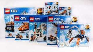 ALL LEGO City Arctic 2018 Collection/Compilation