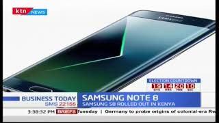Business Today: Samsung unveils it Sumsung Galaxy Note 8