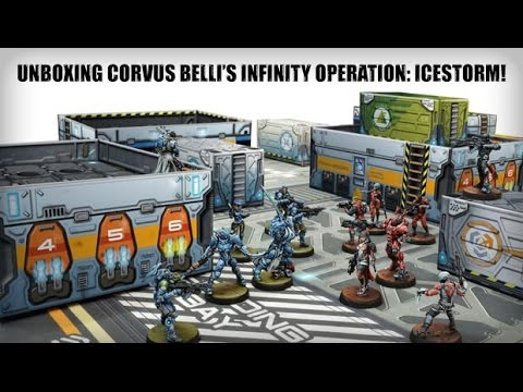 Unboxing Corvus Belli's Infinity Operation: Icestorm!
