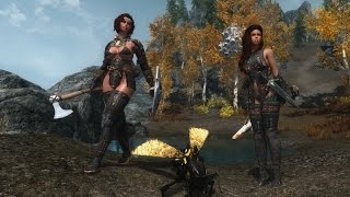 Skyrim Mod Review - Amber Lightning of Hope, Warrior's Legacy and Giant Wasps