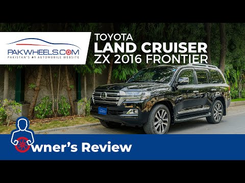 Toyota Land Cruiser ZX 2016 Frontier Owner's Review | PakWheels