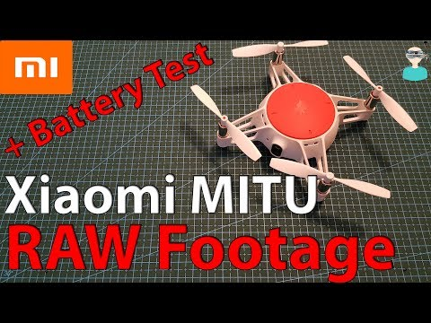 Xiaomi MiTu Battle Mini RC Drone - Battery Test & RAW Footage