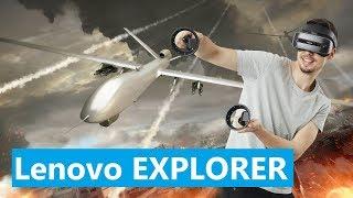 Lenovo Explorer - новая гарнитура для Windows Mixed Reality