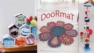 10 Home Creations !!! Handmade Useful Craft Ideas At Home