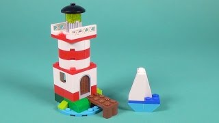 Lego Lighthouse Building Instructions - Lego Classic 10692 How To