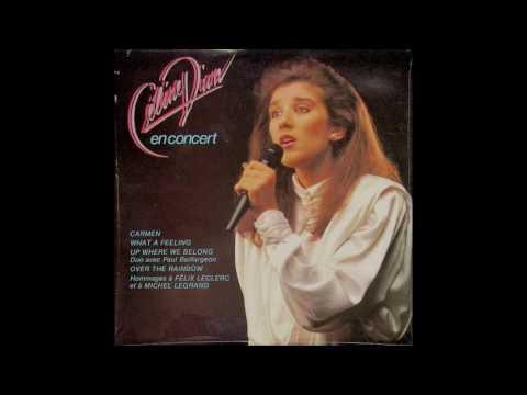 "Celine Dion - ""Up Where We Belong"" in duet Paul Baillargeon 1985"