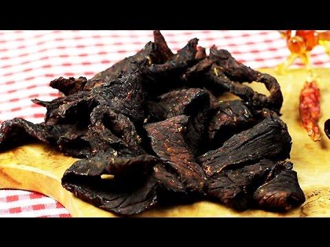 BEEF JERKY selber machen | Fleisch-Snack low carb + low fat