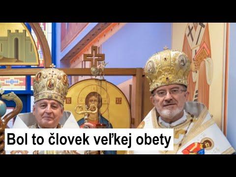 Arcibiskup Ján Babjak s úsmevom spomína na vladyku Milana Šášika