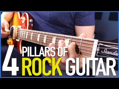 The 4 Pillars Of Rock Guitar - Your First Rock Guitar Lesson