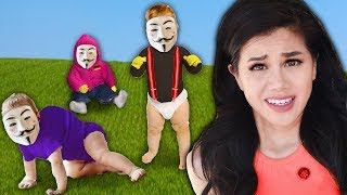 BABY HACKERS? Vy Qwaint Reacting to Old Project Zorgo GKC School Videos & Funny Daniel Tik Tok Dance
