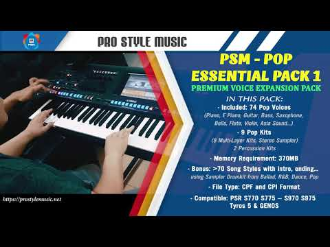 Sway - Cover on Yamaha Genos - PSM POP Essential pack 1 - Pro Style