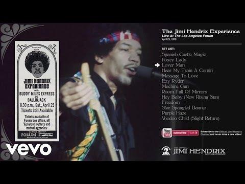 Jimi Hendrix - Lover Man - LA Forum 1970