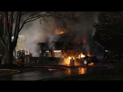 Thanksgiving Eve House Fire, Hanover PA 11/22/17