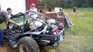 1978 Model Vw Dune Buggy 1600 Cc Bored Out, Cold Start