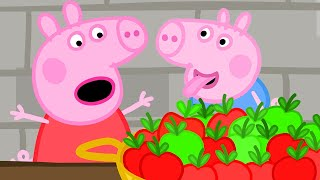 Peppa Pig Official Channel 🍎Plastic Apples at the Castle 🍎