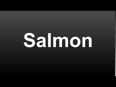 Download How To Pronounce Salmon (American English) Mp4 HD Video and MP3