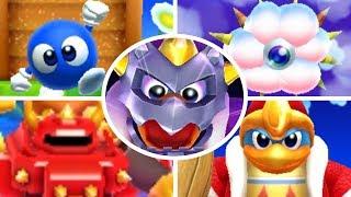 Kirby's Blowout Blast - All Bosses (No Damage)