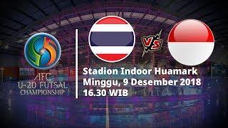 Live Streaming MNCTV Piala Asia Futsal U-20 2019, Thailand Vs Indonesia Pukul 16.00 WIB