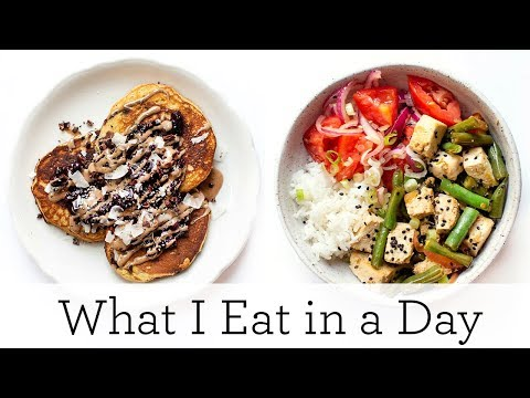WHAT I EAT IN A DAY ‣‣ Healthy Plant-Based Meals