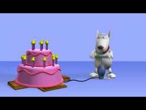 Thema: Verjaardagskaarten e-card : opblaastaart