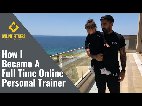 How I Became A Full Time Online Personal Trainer