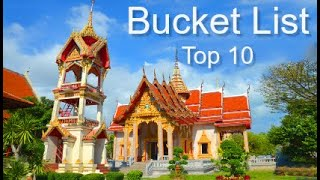 Top Ten Bucket List Trips Of A Lifetime, By Donna Salerno Travel
