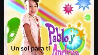 """Danna Paola - Pablo y Andrea """"Un sol para ti"""""""
