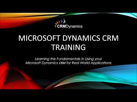 Training Webinar Microsoft Dynamics CRM 2016 - Accounts ...