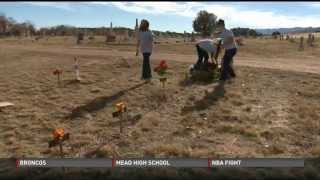 10-year-old brings color to inmates' graves