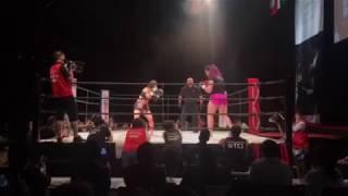 Full fight Gabi Garcia Shootboxing fight against Megumi Yabushita Japan