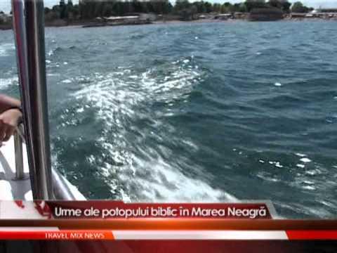 Urme ale potopului biblic in Marea Neagra