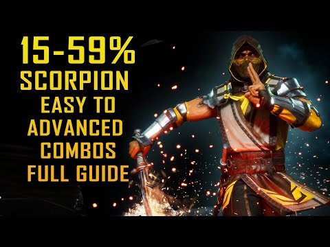 mortal kombat 11 scorpion combos
